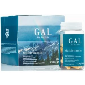 Gal multivitamin 30+30 étrend-kiegészítő 30 napi adag 20g+24,6g 60 db